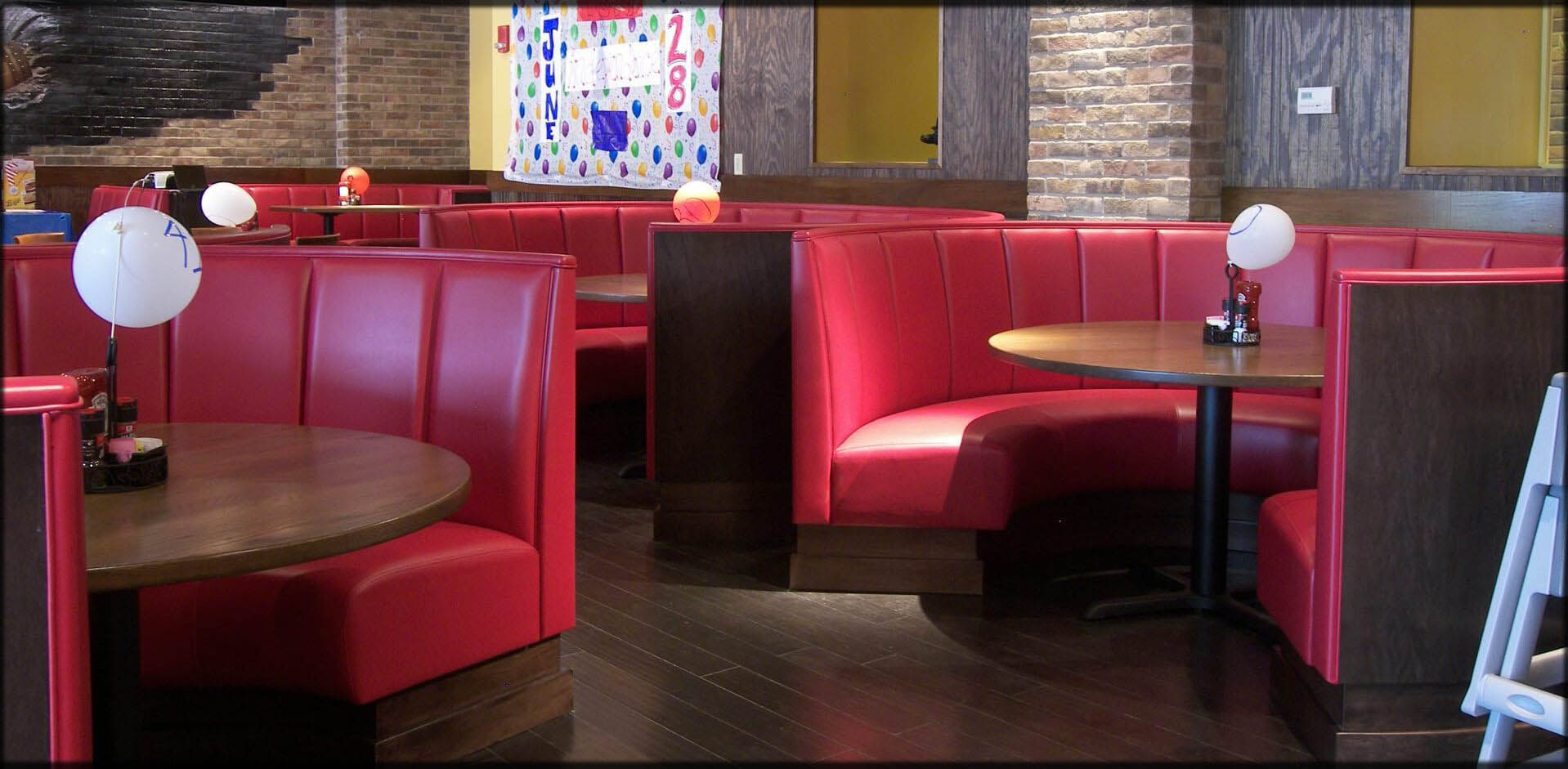 Restaurant Furniture Seating Commercial Booths Custom
